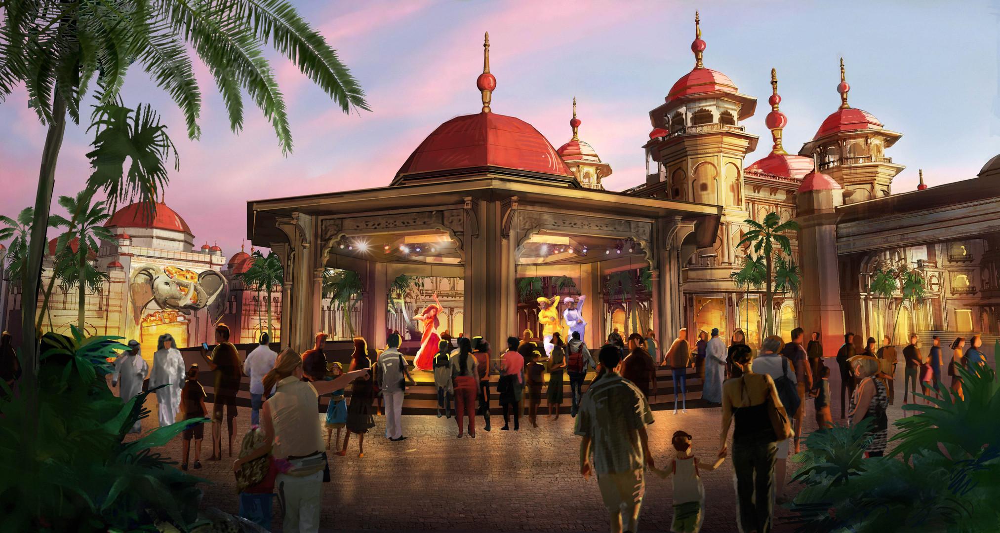 Dubai Parks - Bollywood-Regal