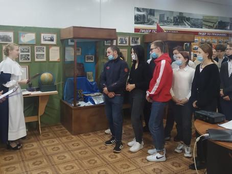 Открытие выставки, посвящённой истории нашего образовательного учреждения