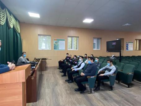 Участие студентов групп казачьей направленности в акции «Студенческий десант»