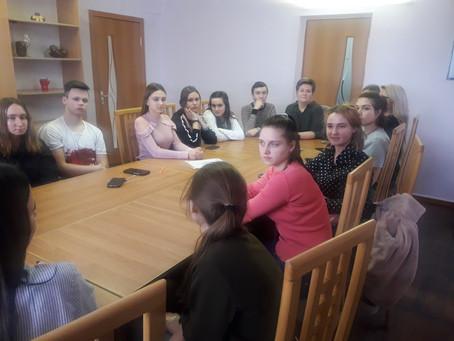 14 февраля состоялось собрание сотрудников и волонтеров  УПП «ЛСПК - сервис»