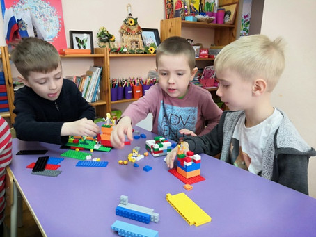 LEGO -конструирование в центре развития ребенка «Лучик»
