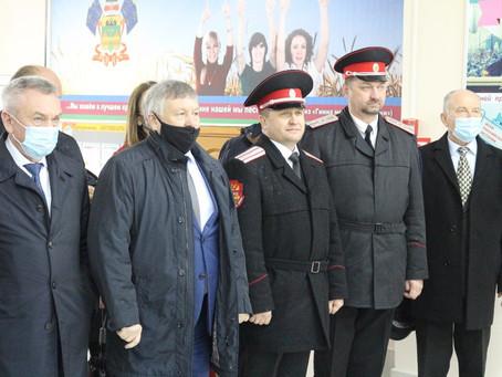 Встреча делегации из Забайкальского края на базе колледжа