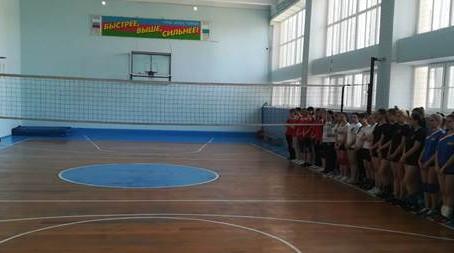 Первенство Ленинградского района по волейболу среди женских команд