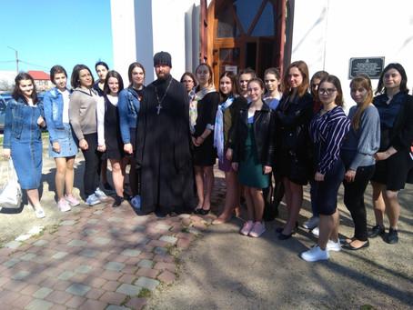 Экскурсия в часовню Великомученика и целителя Пантелеимона