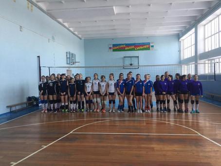 Соревнования Переходящего Кубка по волейболу среди команд девушек-казачек районных казачьих обществ