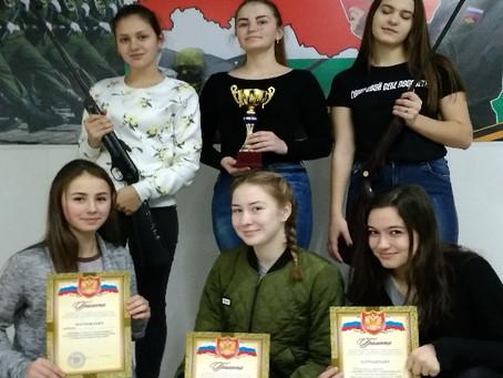 Соревнование открытого первенства среди девушек.
