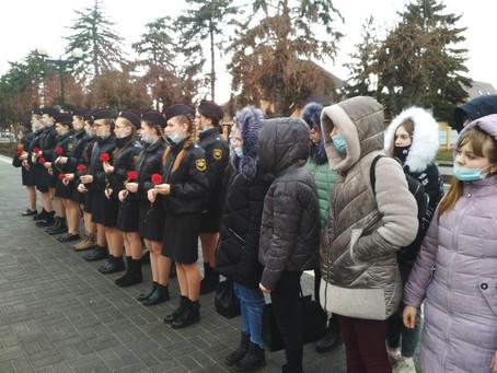 Митинг посвященный 78-й годовщине освобождения Ленинградского района