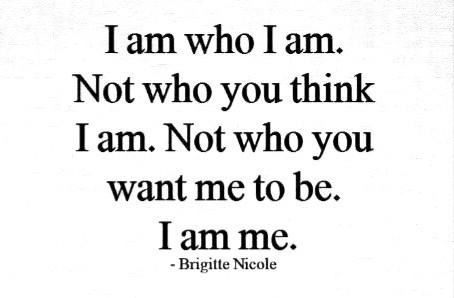 I am ______