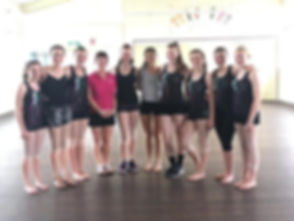 Dancers of Dalby Academy of Dance