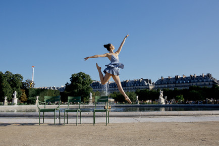 Kate Taylor photographic Collaboration - Paris