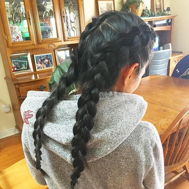 Hair Cut + Braids by Shinae