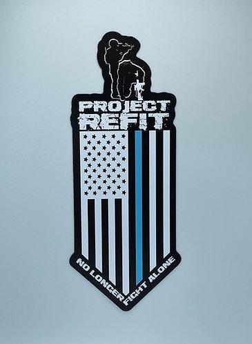 Project Refit Sticker