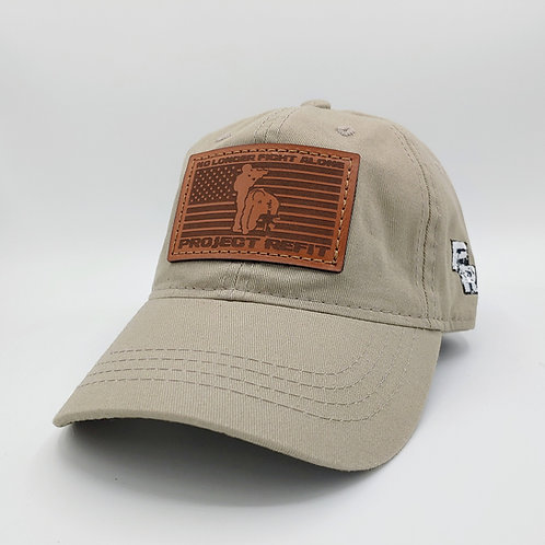 "Project Refit Leather Patch ""Dad"" Hat"
