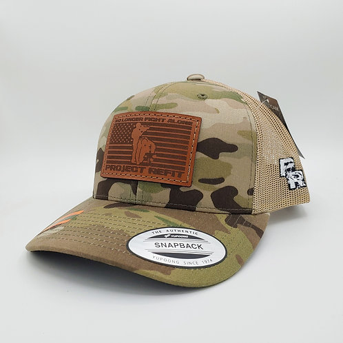 Project Refit Leather Patch Camo Hat