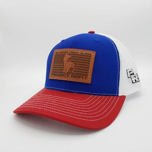 Project Refit Leather Patch RWB Hat