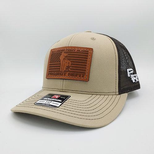 Project Refit Leather Patch Tan Hat
