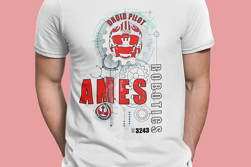 AMES T-Shirt Droid