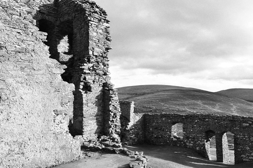 Castle Ruins : Scotland