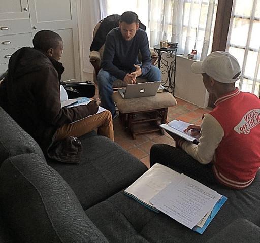 Young Men's Discipleship Group