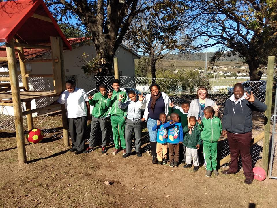 Sivuyele School for the Deaf, one of Knysna Hope's local partnerships