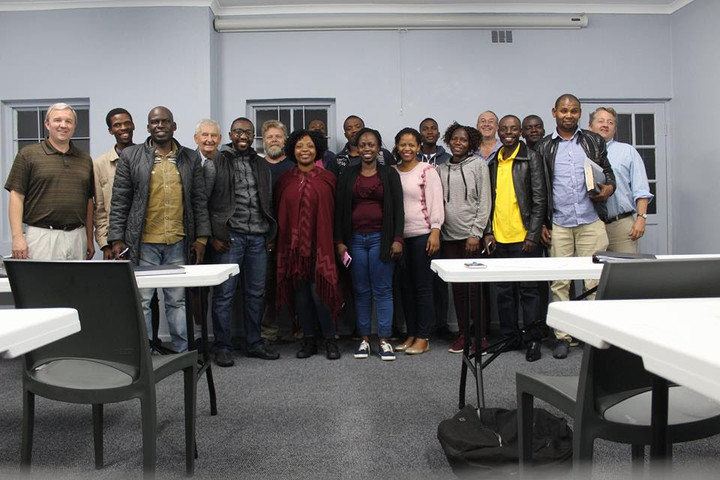 Students of Knysna Hope's Biblical Leadership Institute