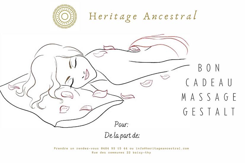 Carte Cadeau Massage