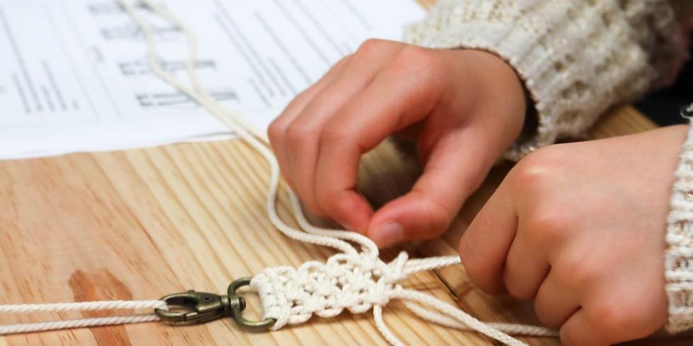 Atelier Initiation Tissage Macramé