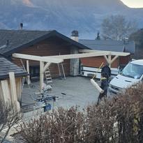 Création d'un couvert à Dugny (2/11)