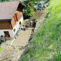 Construction garage en cours (1/4)