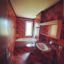 Carrelage WC - Avant