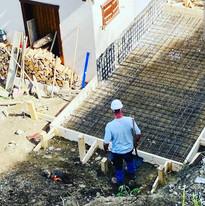 Construction garage en cours (3/4)