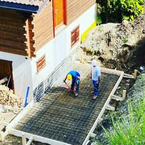 Construction garage en cours (4/4)
