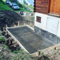 Construction garage en cours (2/4)