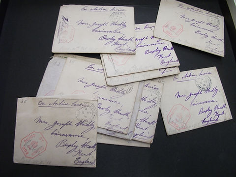 Series of old letters