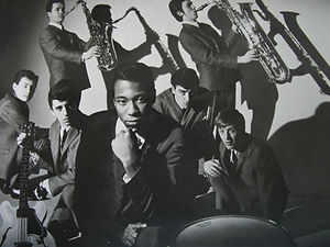 Picture of Jazz Band, vintage print