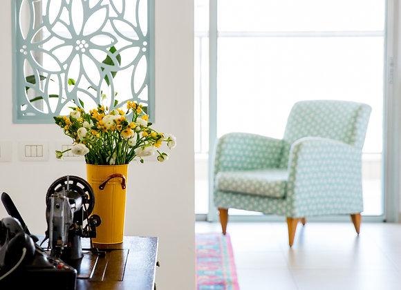 דקובריק דגם שדה פרחים