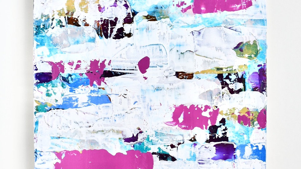 Pink Blue Panel Board