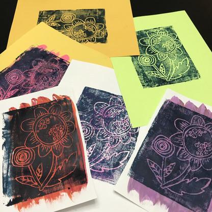 Printmaking Like Warhol