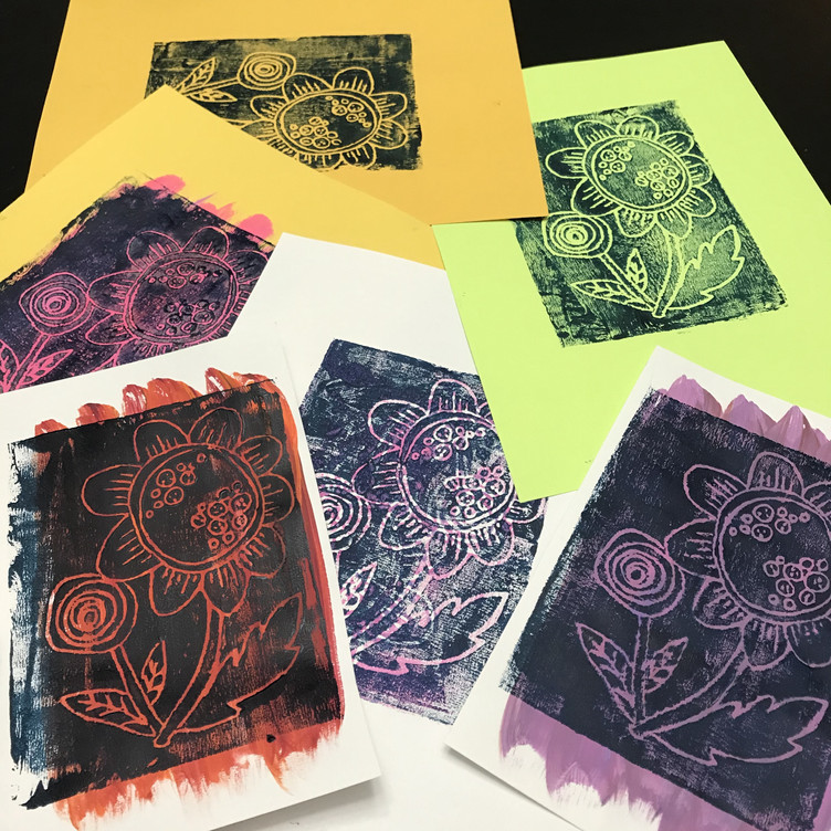 Printmaking Like Warhol