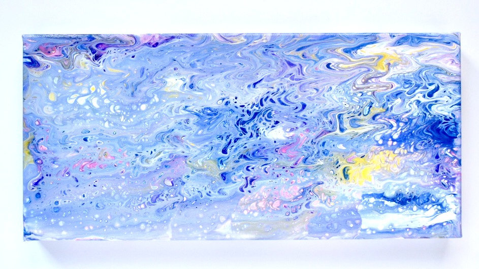 Canvas Paint Pour 4