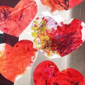 Proccess Art Hearts