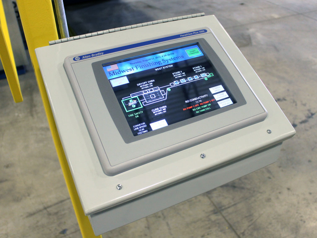 Finishing System Controls