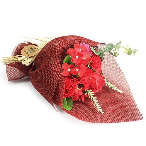 Bouquet de fleurs de savon