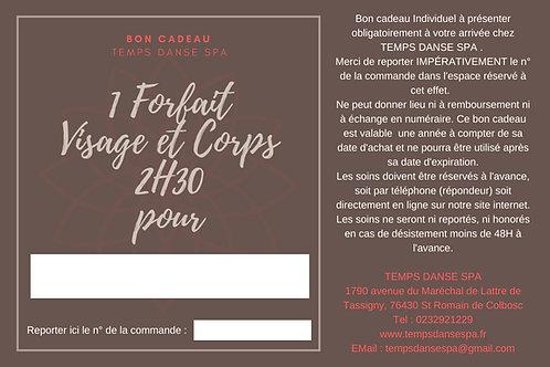 BON CADEAU FORFAIT VISAGE ET CORPS 1