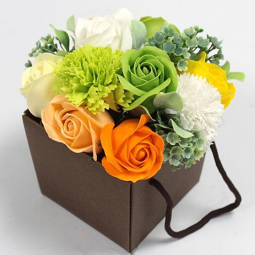 Bouquets fleur de bain boîte à poser