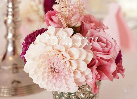 Blumenvase Rosé, Pflaume