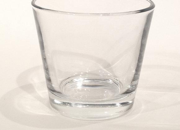 Teelicht Glas klar, groß