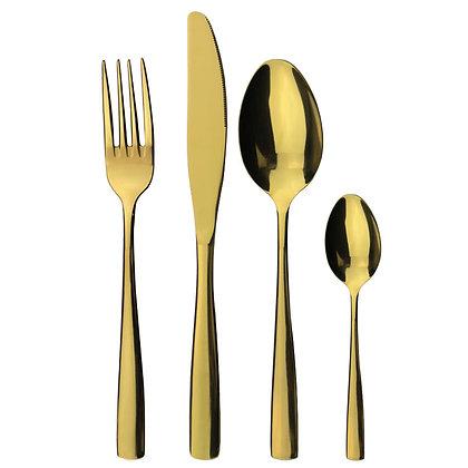 Besteck gold (Preis je Stück)