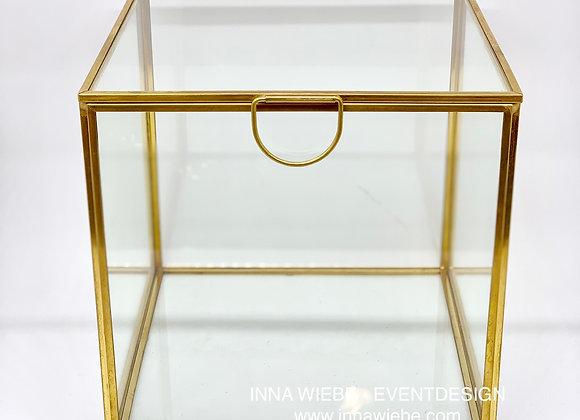 Glasbox Gold Quadrat