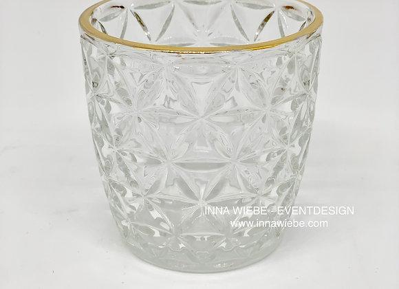 Vase / Windlicht raute groß